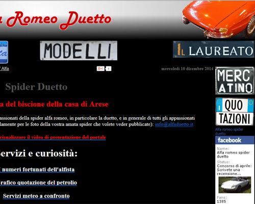Alfa Duetto Cuneo